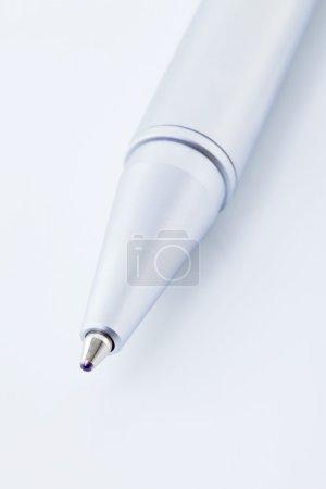 Ballpoint pen, close-up