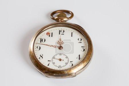 Pocket watch, copy space
