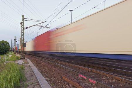 Tráfico de mercancías por ferrocarril