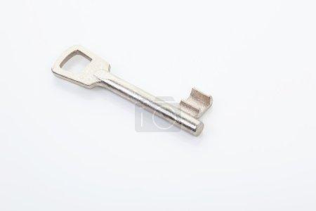 Simple metal key