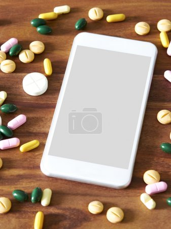 Smartphone with variety pills