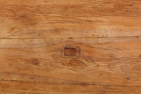Brown polished wood
