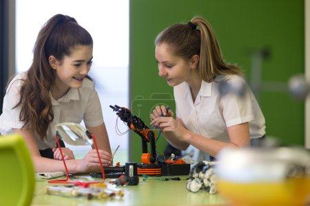 Technologie robotique à l'école