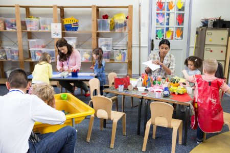 A Day in a Nursery