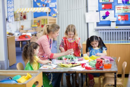 Arts and Crafts at Nursery