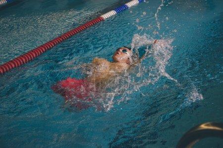 Quadriplegic Professional Swimmer