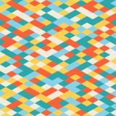 Abstraktní barevné geometrické bezešvé vzor