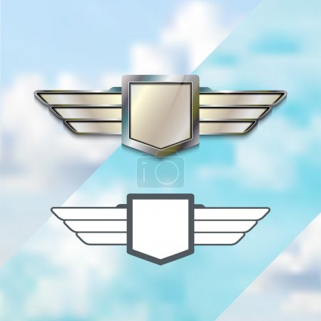 Airline Silver Logo Concept