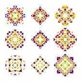 Vector Collection of Geometric Decorative Elements
