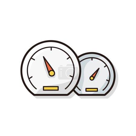 Speedometer doodle