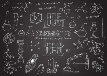 set of chemical equipment