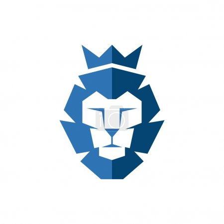 Illustration for Lion Logo Template - Royalty Free Image