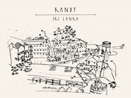 Prison in Kandy, Sri Lanka