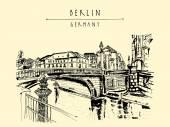 Monbijou bridge in Berlin
