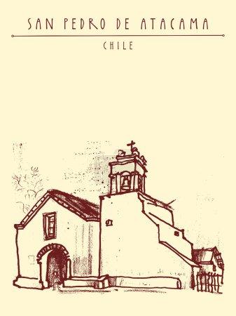 church in San Pedro de Atacama