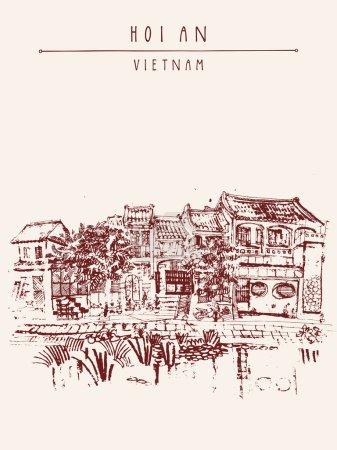 Hoi An ,Vietnam h artistic postcard