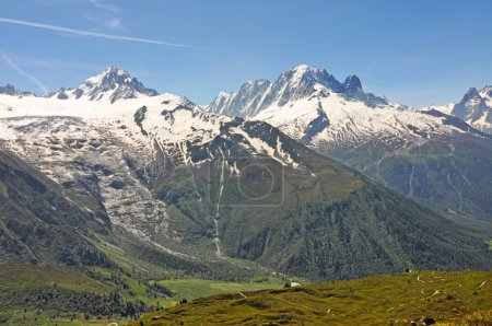 The Alps are the highest and most extensive mounta...