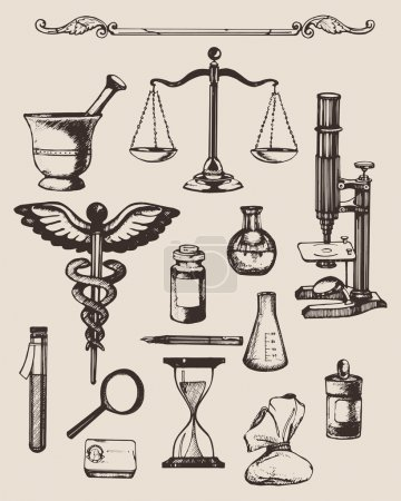 Elements of pharmacy or chemistry
