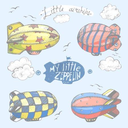 коллекция милый маленький airchips