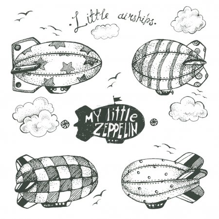 collection of cute little airchips
