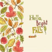 Hello, bright fall!  pattern