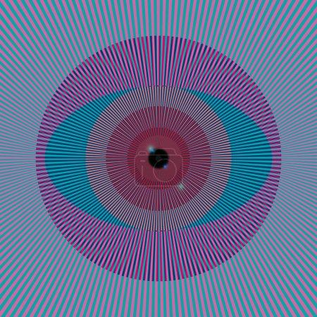 Acid eye...