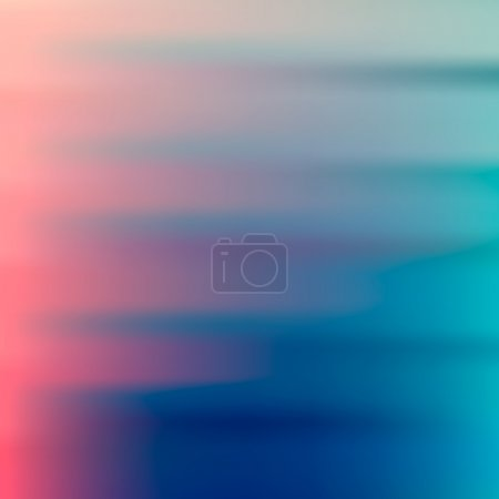 Illustration for Abstract pink, teal, purple and green blur color gradient background for web, presentations and prints. Vector illustration. - Royalty Free Image