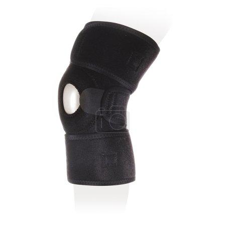 Photo pour Genou Bandage, orthèses de genou, genou supporte - image libre de droit