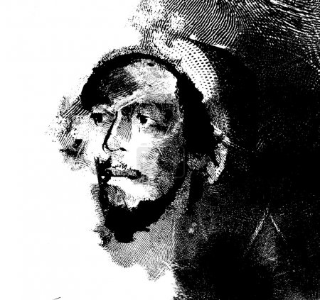 Original caption: A close-up portrait of Jamaican ...