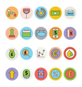 Business and Office Colored Vector Icons 11
