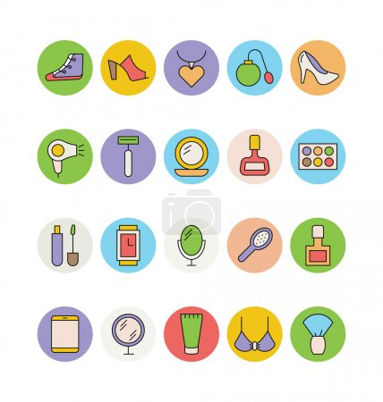 Fashion and Beauty Vector Icons 4