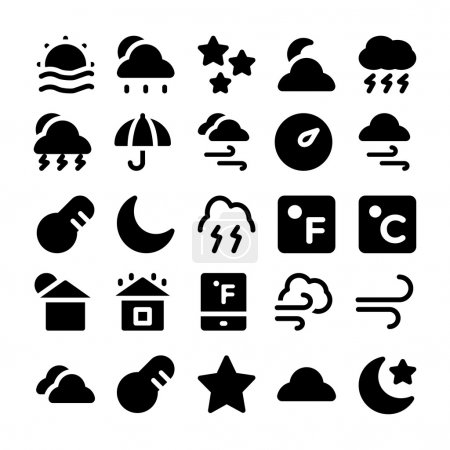 Weather vector icon 5