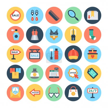 Shopping and E Commerce Vector Icons  4
