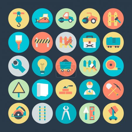 Construction Vector Icons 4