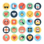 Love & Romance Vector Icons 1