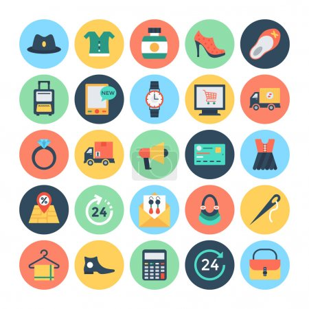 Shopping and E Commerce Vector Icons  2