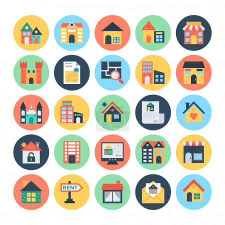Real Estate Vector Icons 3