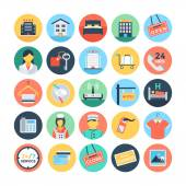 Hotel and Services Vector Illustrations 1