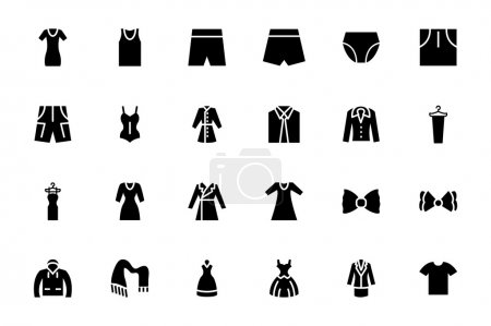 Clothes Vector Icons 3