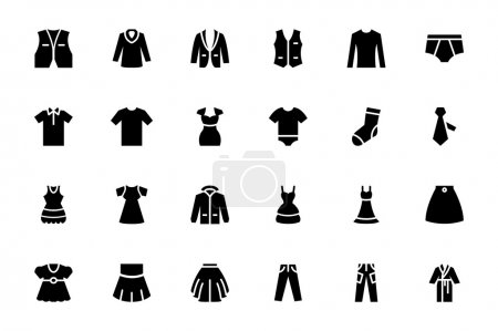 Clothes Vector Icons 2