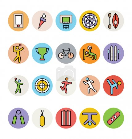 Sports Vector Icons 6