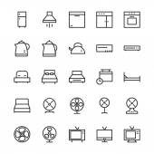 Hotel Outline Vector Icons 3