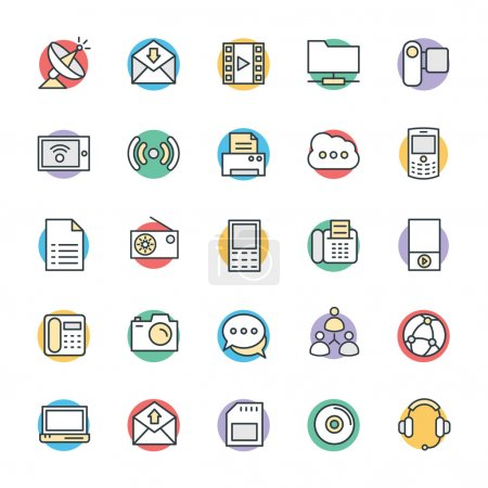 Communication Cool Vector Icons 4