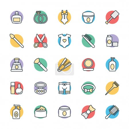 Fashion and Clothes Cool Vector Icons 5