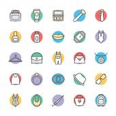 Fashion and Clothes Cool Vector Icons 3