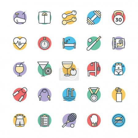 Fitness Cool Vector Icons 1