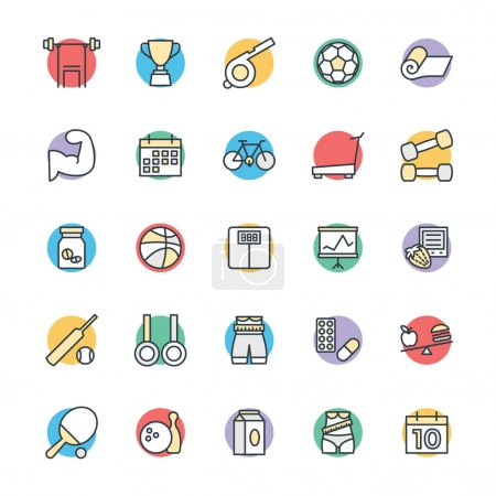 Fitness Cool Vector Icons 2