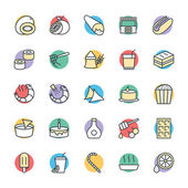 Lebensmittel Cool Vector Icons 11