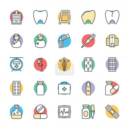 Medical and Health Cool Vector Icons 2