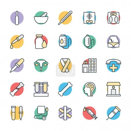 Medical and Health Cool Vector Icons 3